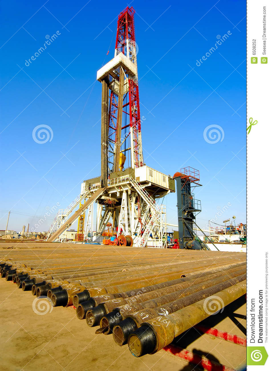 Land Drilling Rig Stock Photography Image 6508252