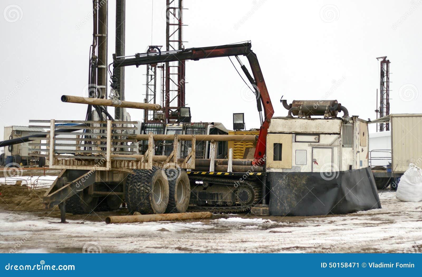 Download Land drilling rig stock image. Image of desert, steppe - 50158471