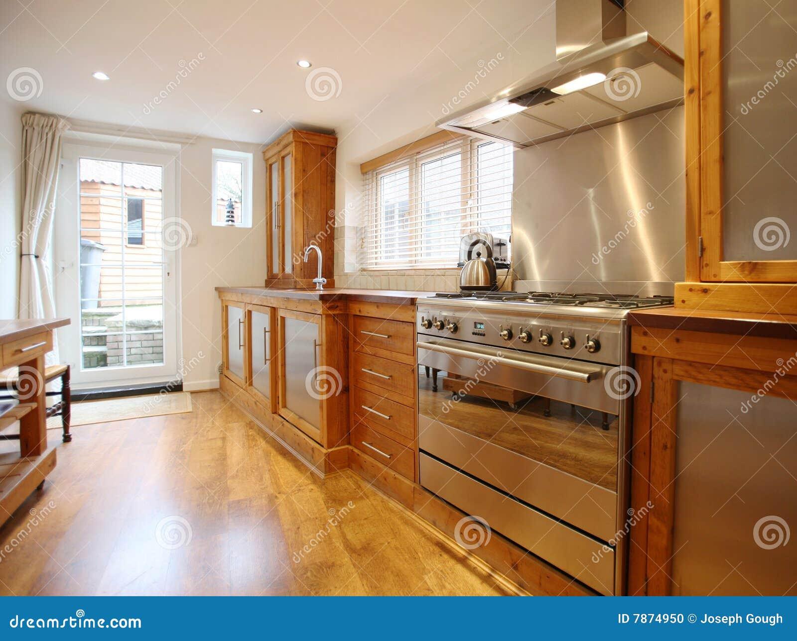 land-küche-innenraum stockfoto - bild: 7874950 - Land Küche