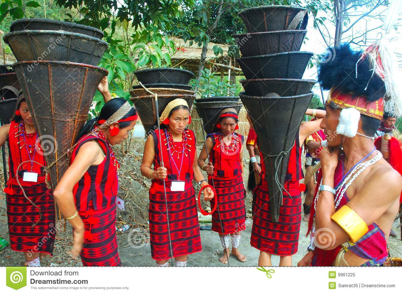 Land & People Of Nagaland-India  Editorial Image - Image of