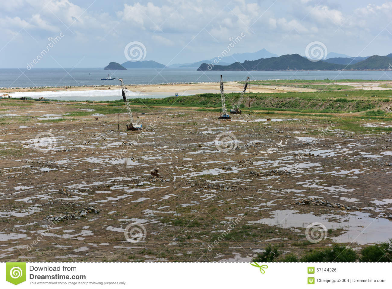 Land reclamation stock photo image 57144326 for Soil reclamation
