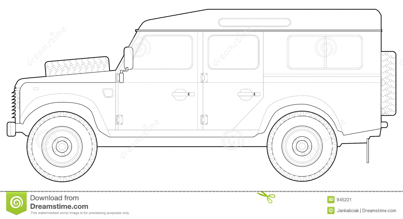 Land Rover 110 Stock Image Image 945221