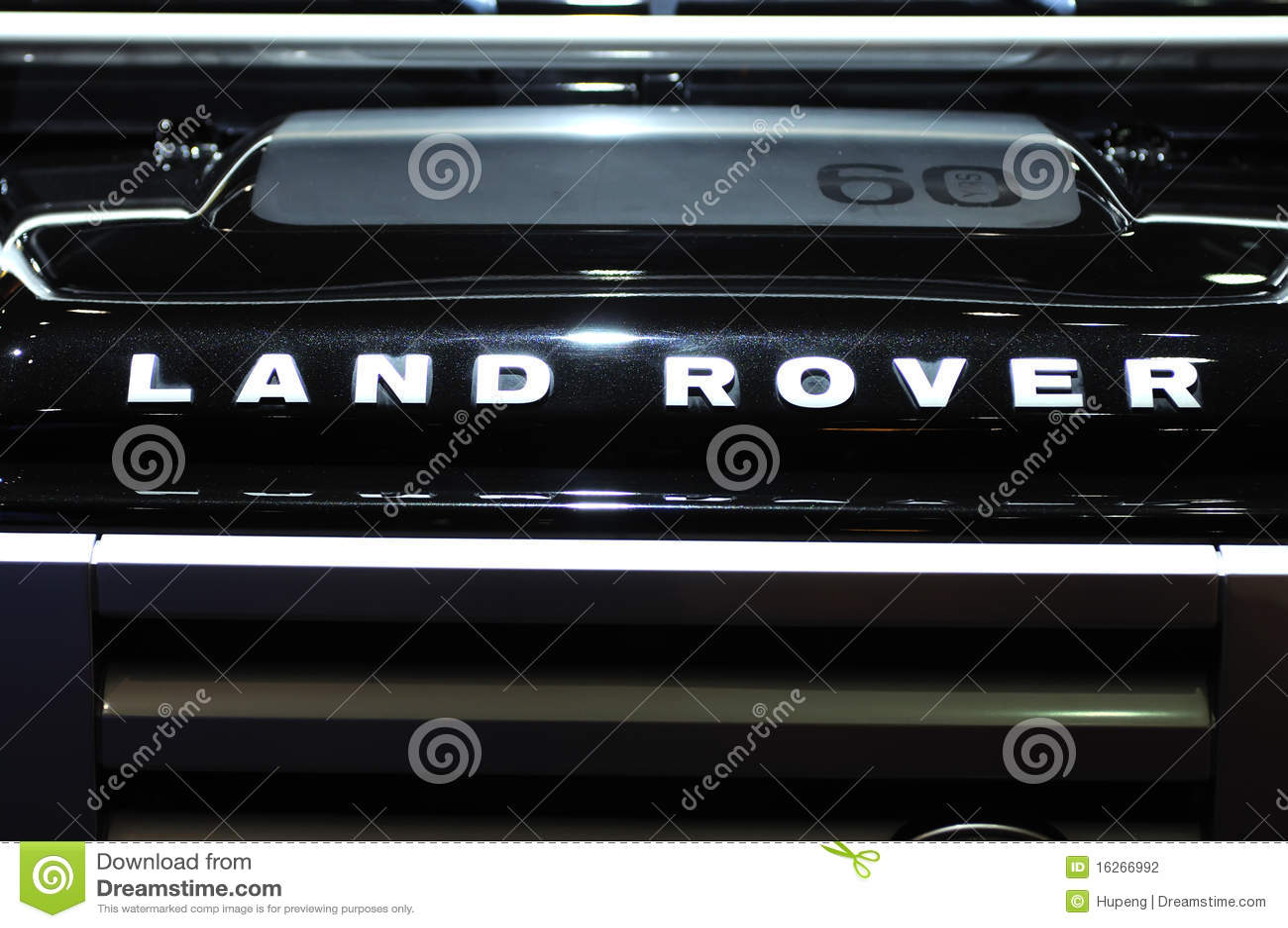 Land Rover Defender Suv Logo Editorial Photography Image