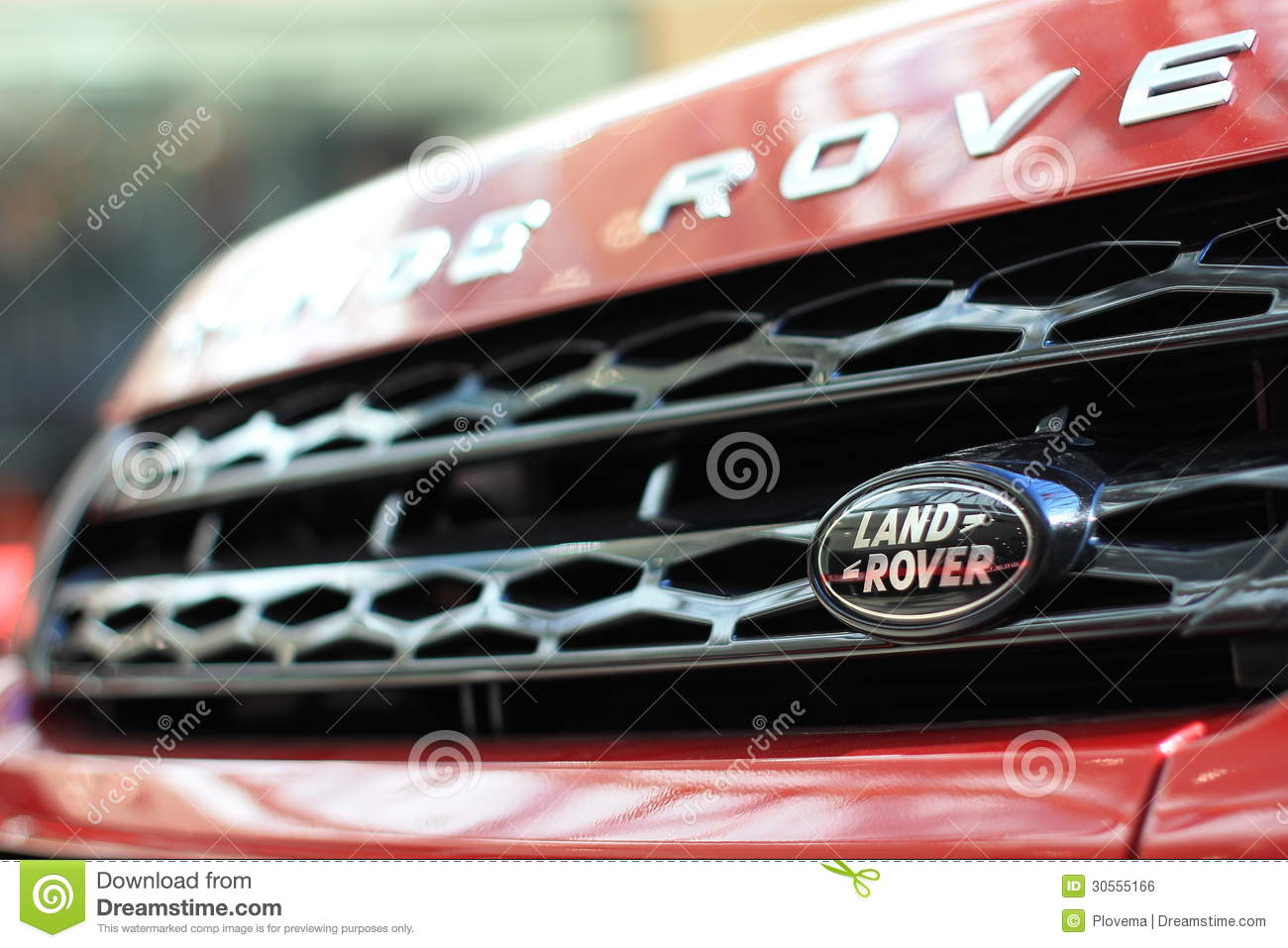 Land Rover Logo Editorial Photo - Image: 30555166
