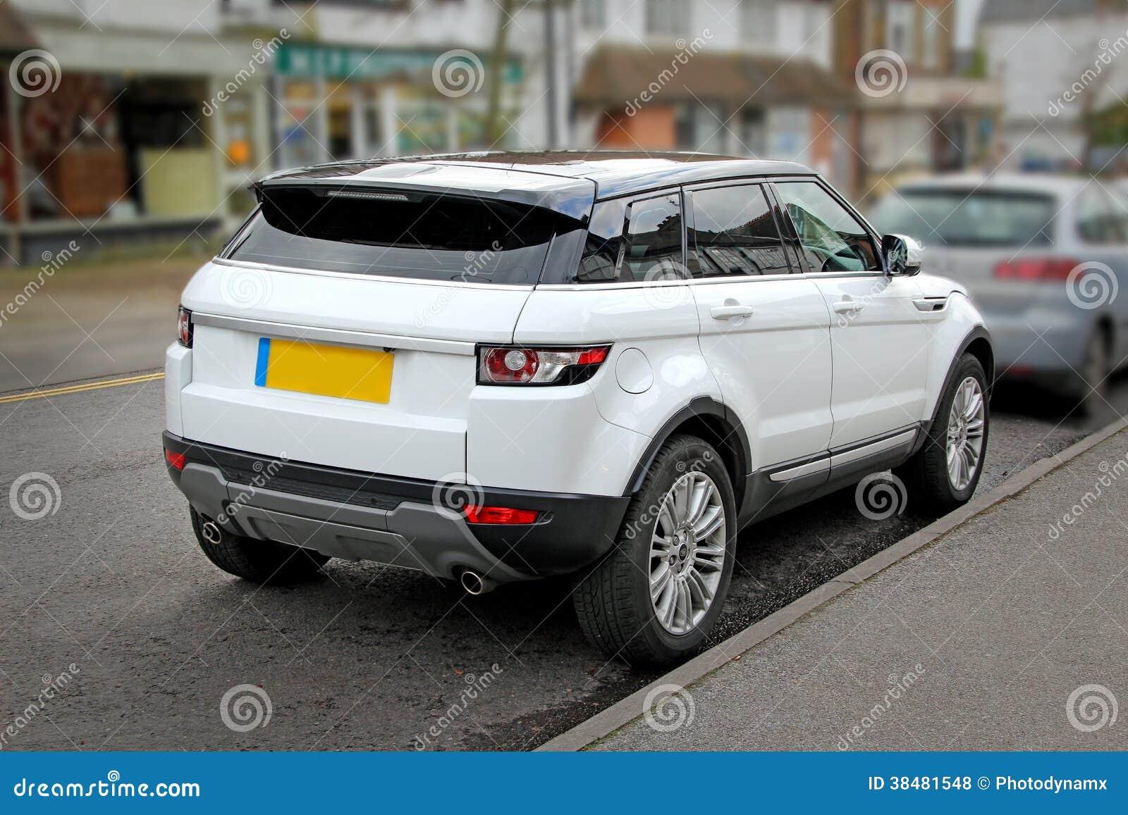 Range Rover New Model >> Land Rover White Model Royalty Free Stock Photos - Image: 38481548