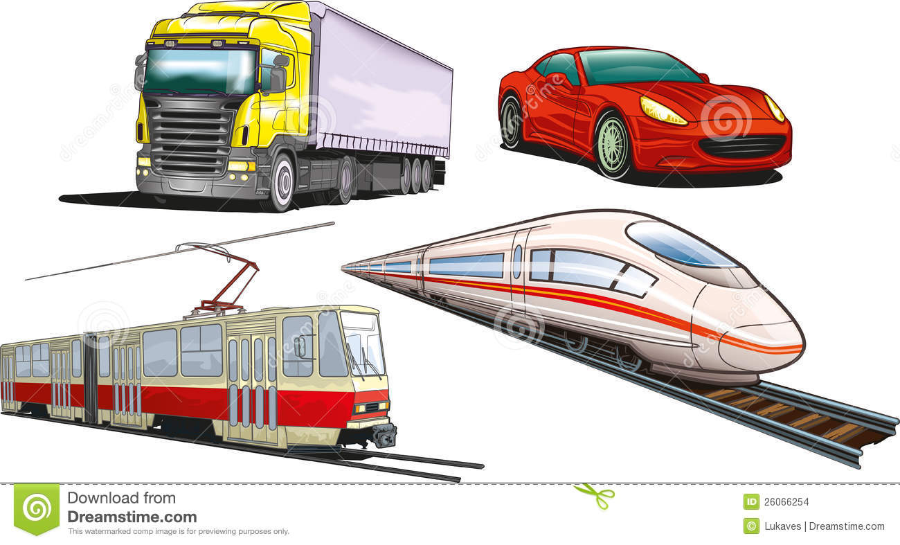 Land Transportation Stock Images