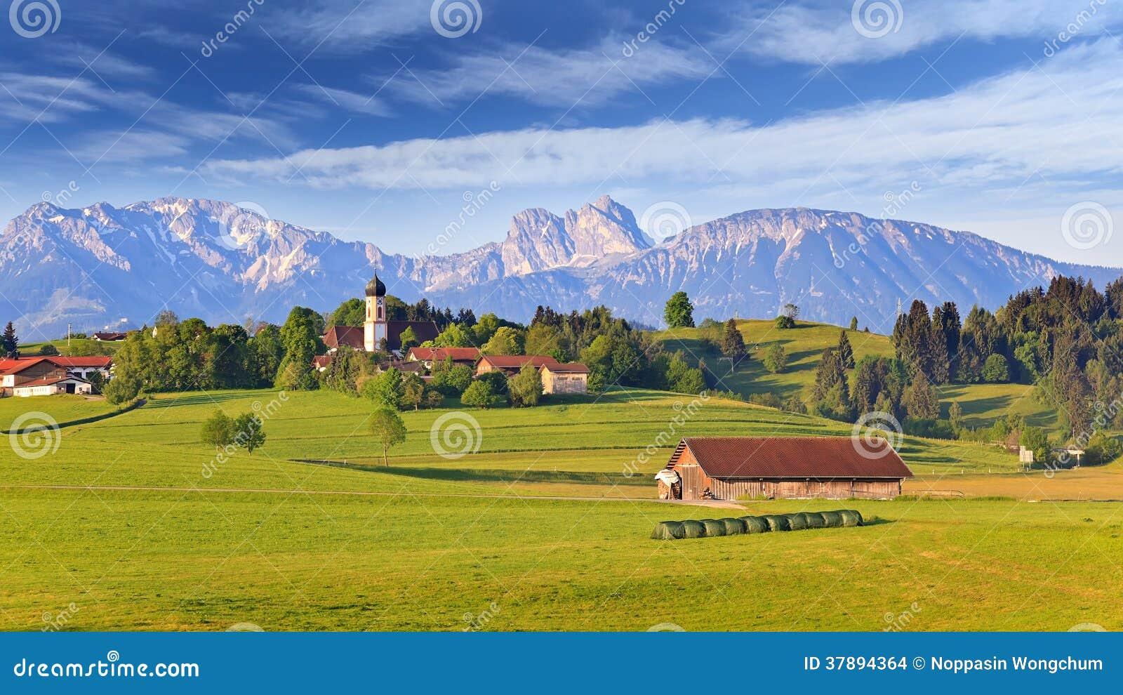 Landelijk dorp