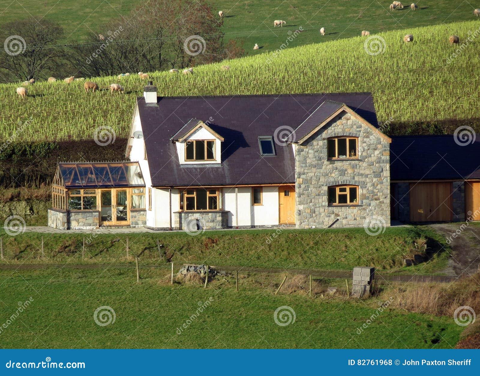 Modern Landelijk Huis : Moderne keuken in landelijk huis van de appelboom walhalla