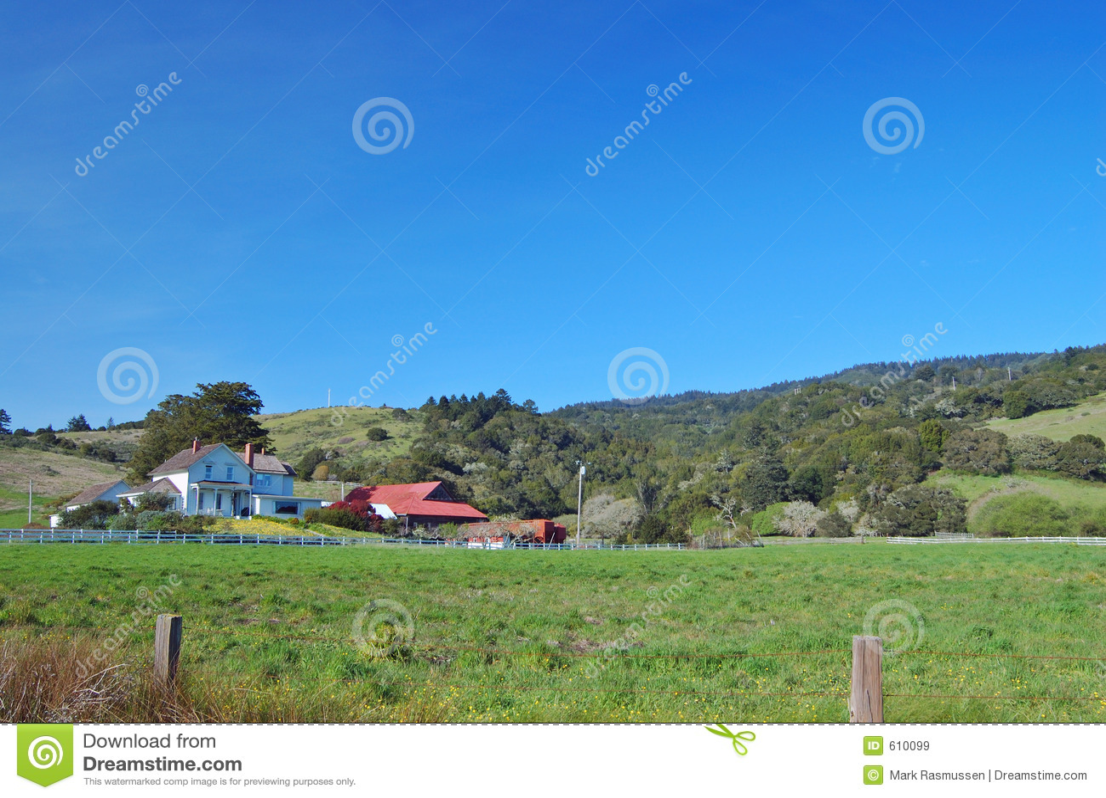 Landelijke boerderij