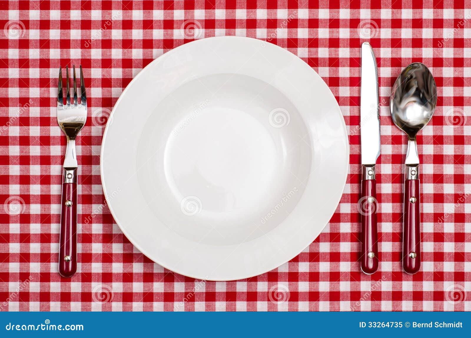 kleurplaat bord vork en mes