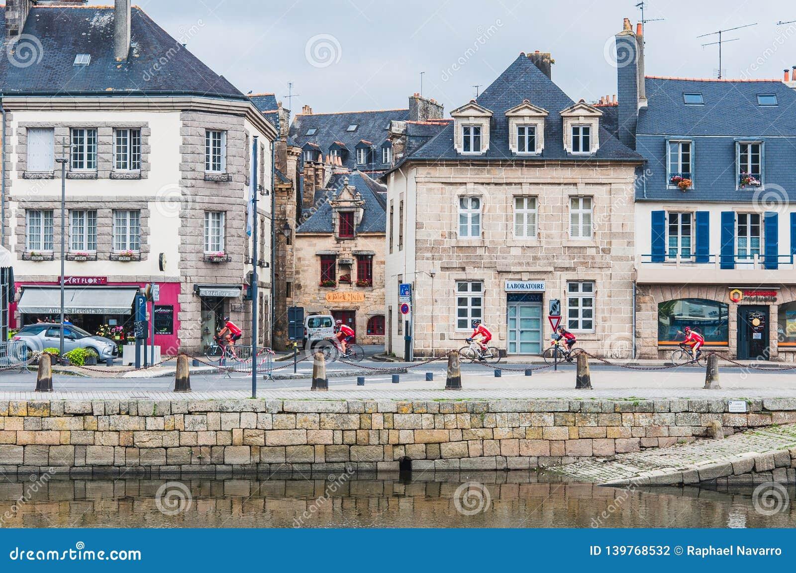 Landerneau del centro in Finistère