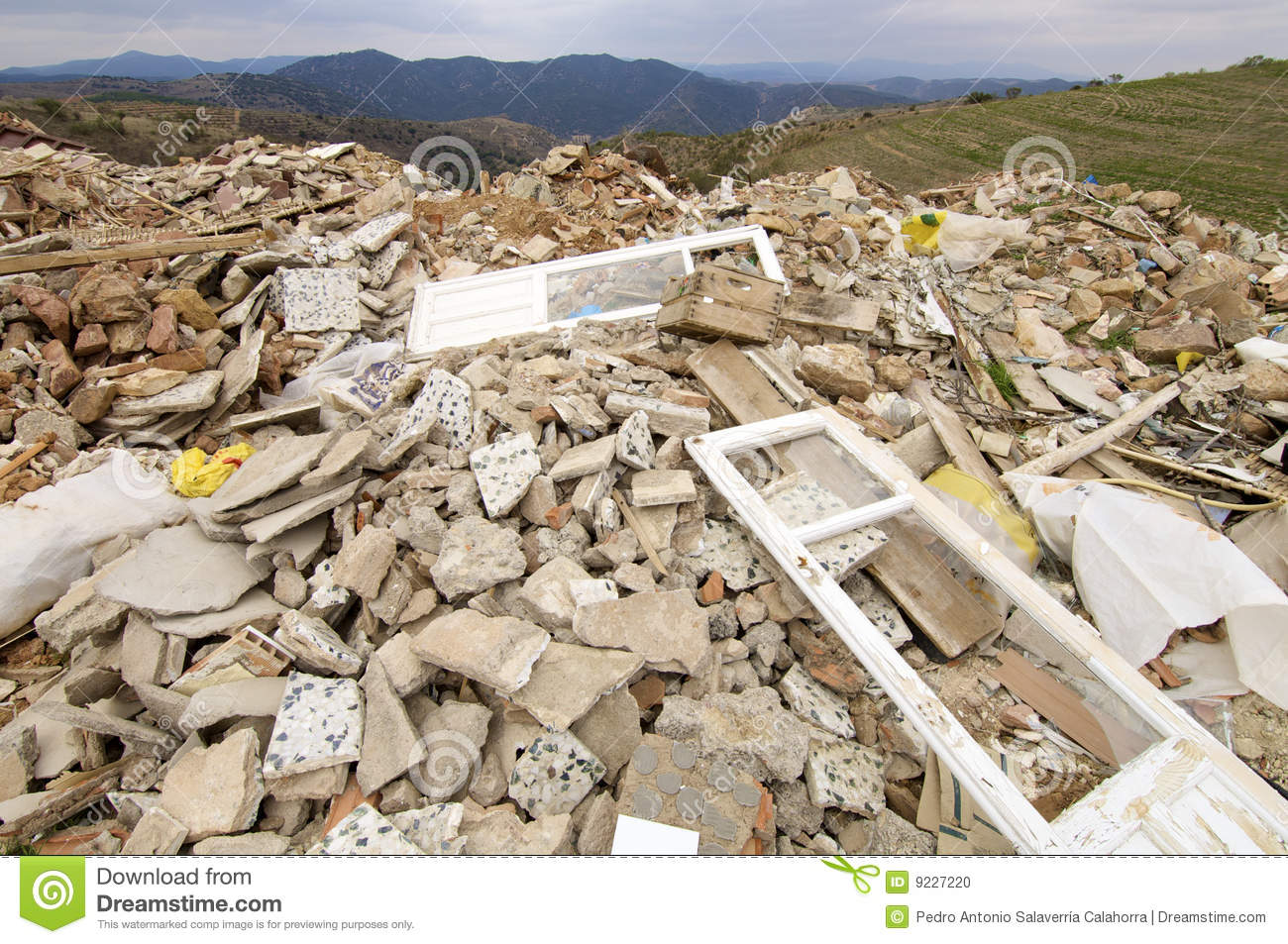 Landfill Stock Photo - Image: 9227220