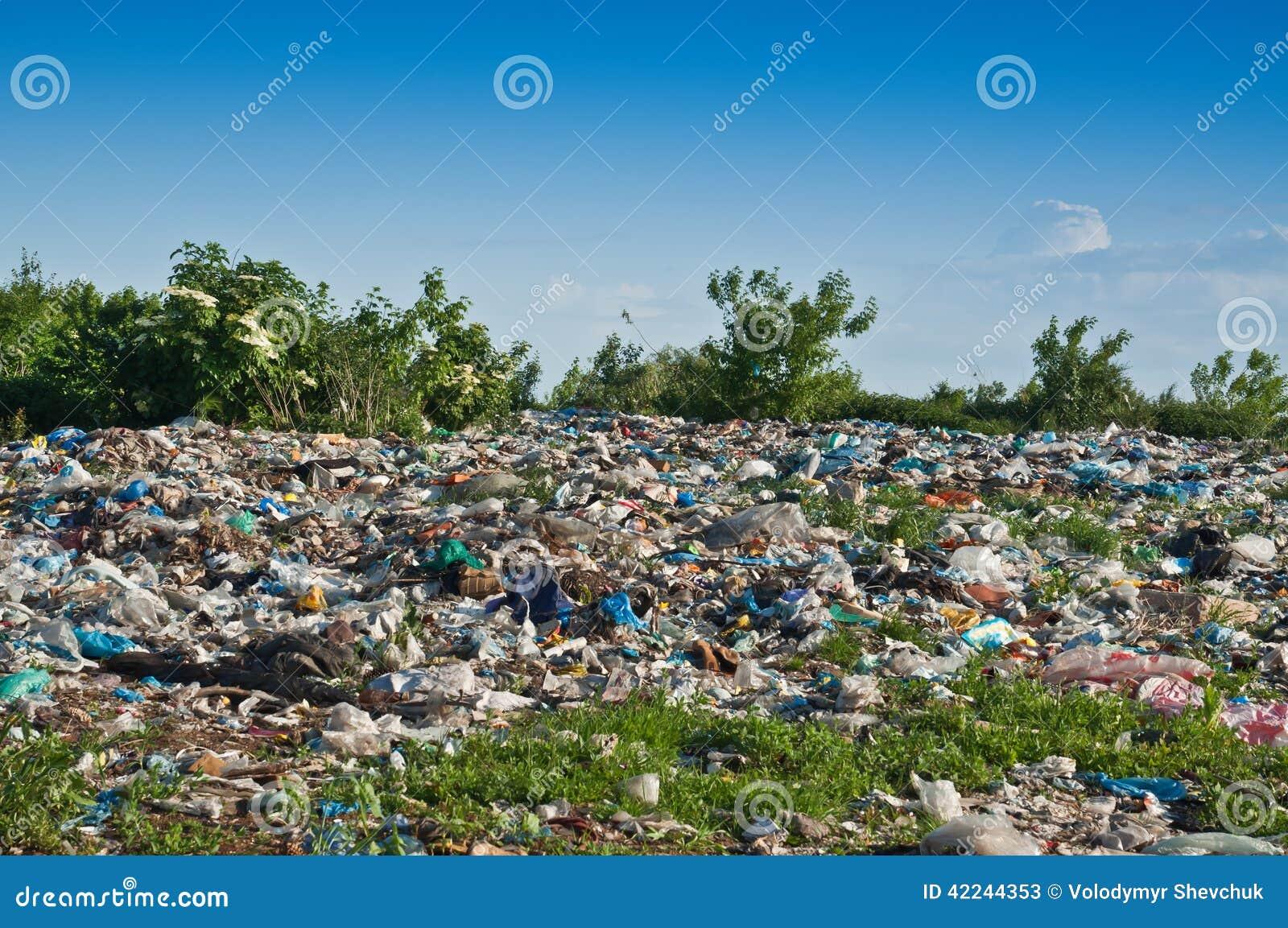 Landfill Stock Photo Image 42244353