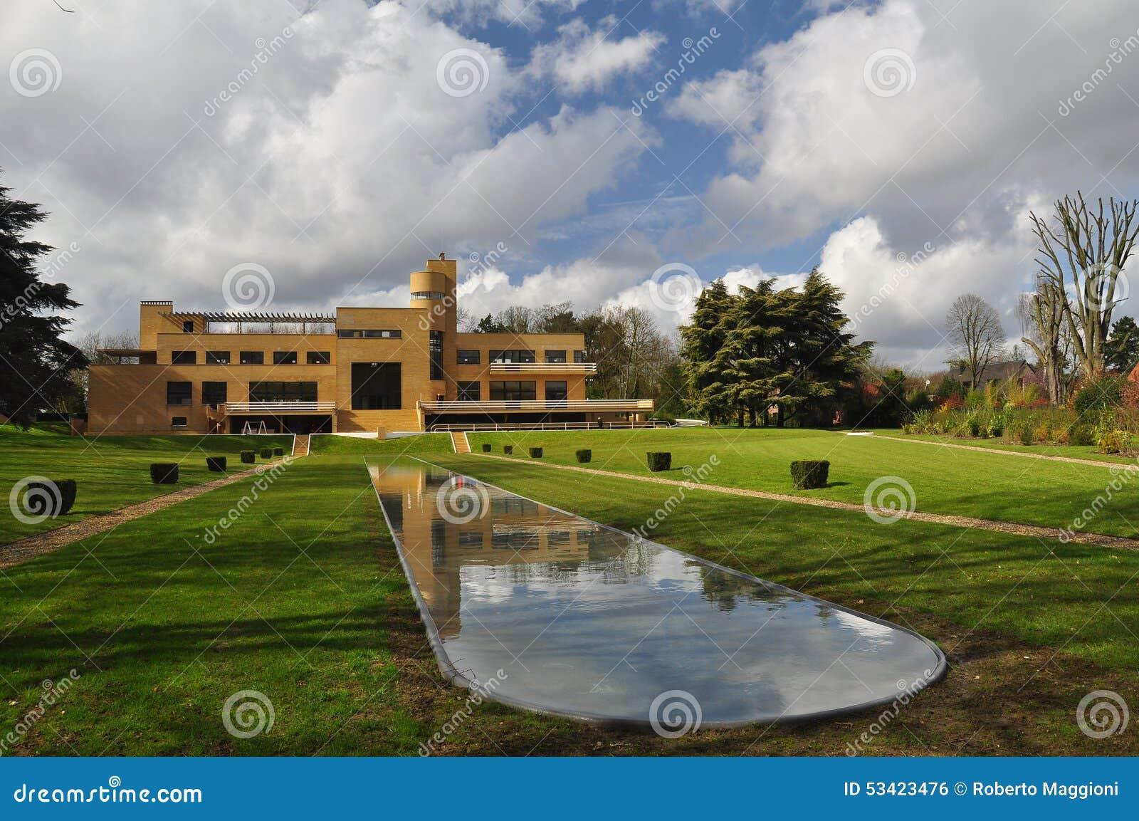 Landhaus Cavrois, modernistische Architektur, Roubaix, Frankreich
