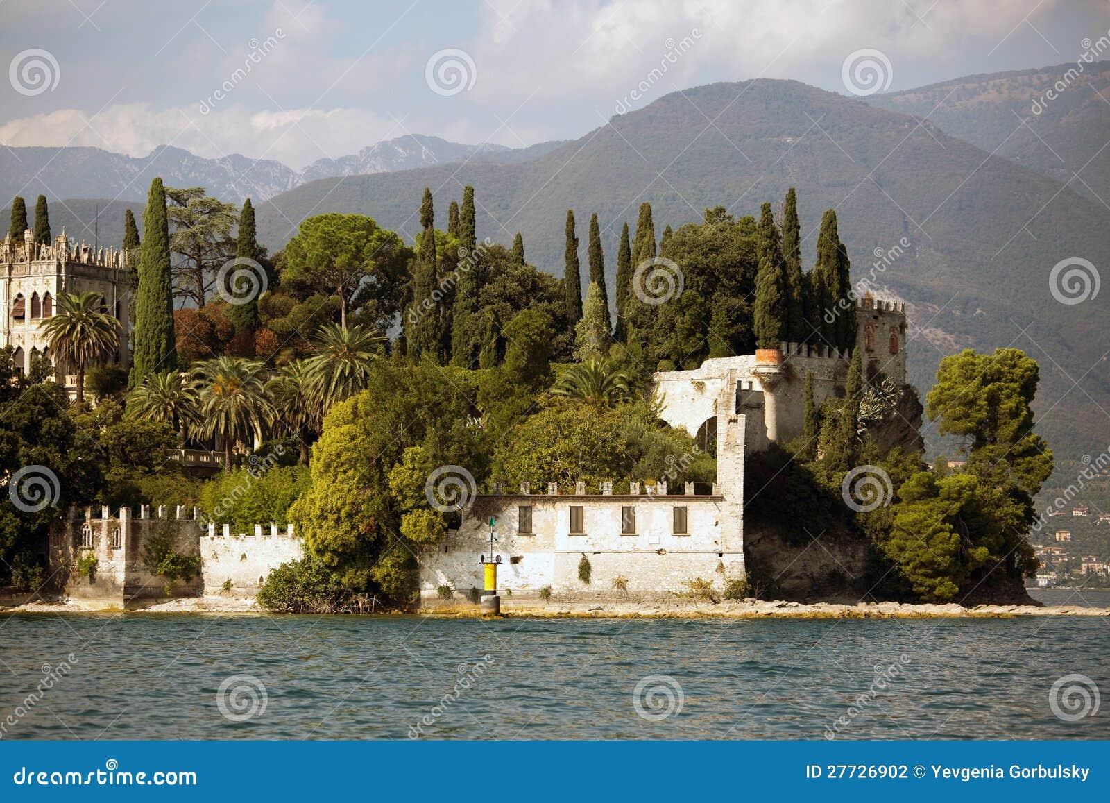Landhaus in dem See Garda