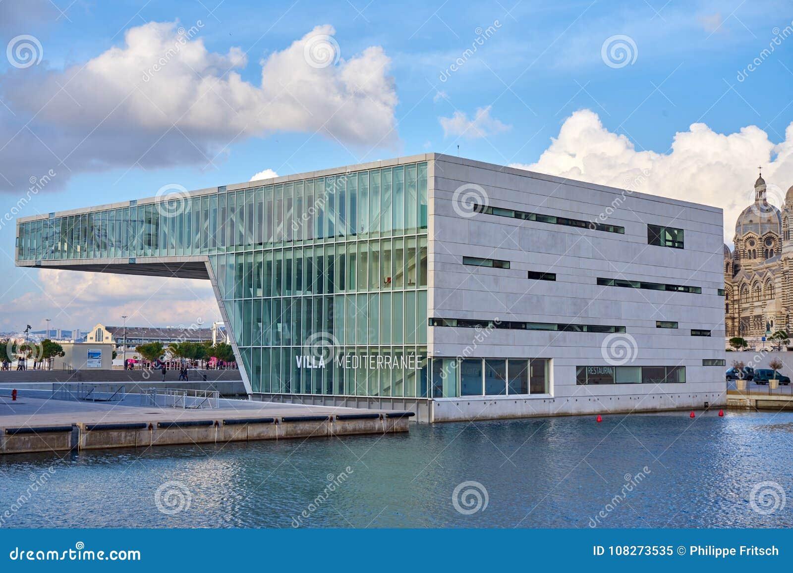 Landhaus Méditerranée ist ein öffentliches Gebäude, das im 2. Arrondissement von Marseille gelegen ist