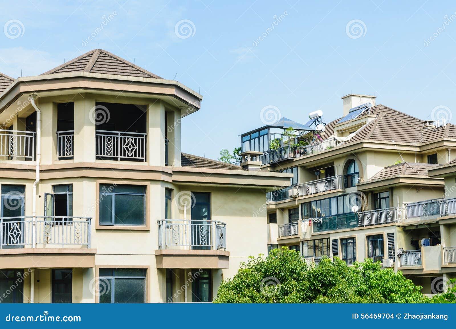 Landhausgruppen-Gebäudelandschaft
