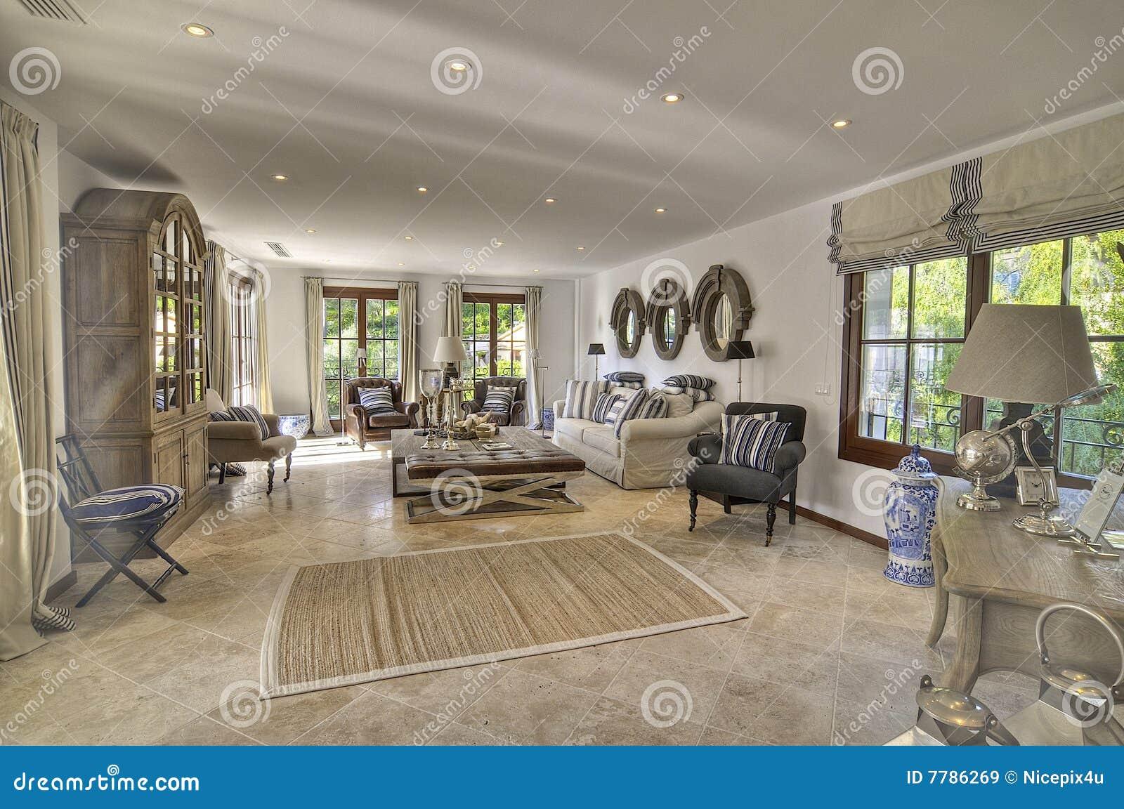 Landhauswohnzimmer