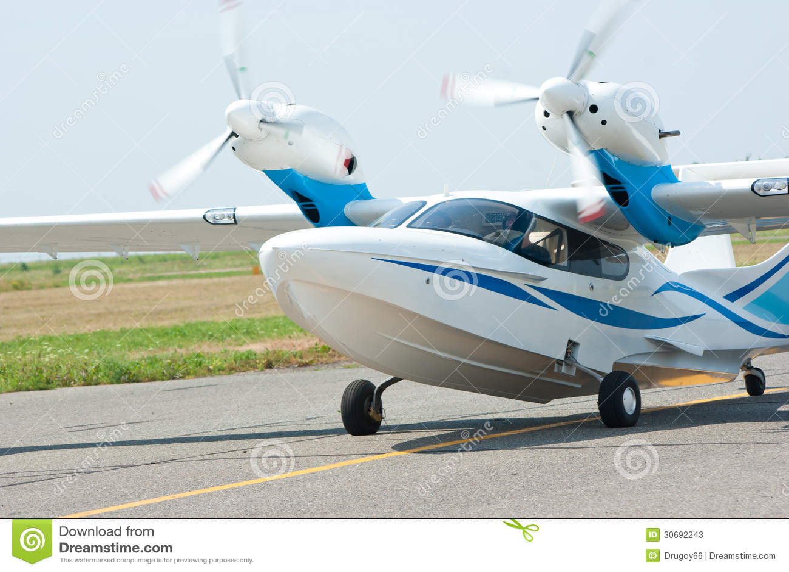 Landing Small Seaplane Stock Photos - Image: 30692243
