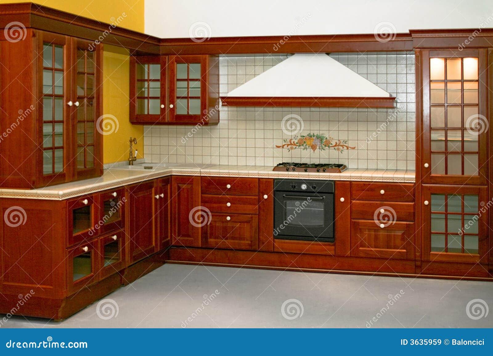 Landküche stockbild. Bild von küche, zustand, lieferung - 3635959