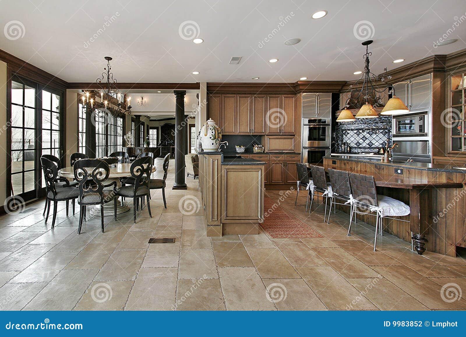 landküche im luxuxhaus stockfotografie - bild: 9983852 - Land Küche