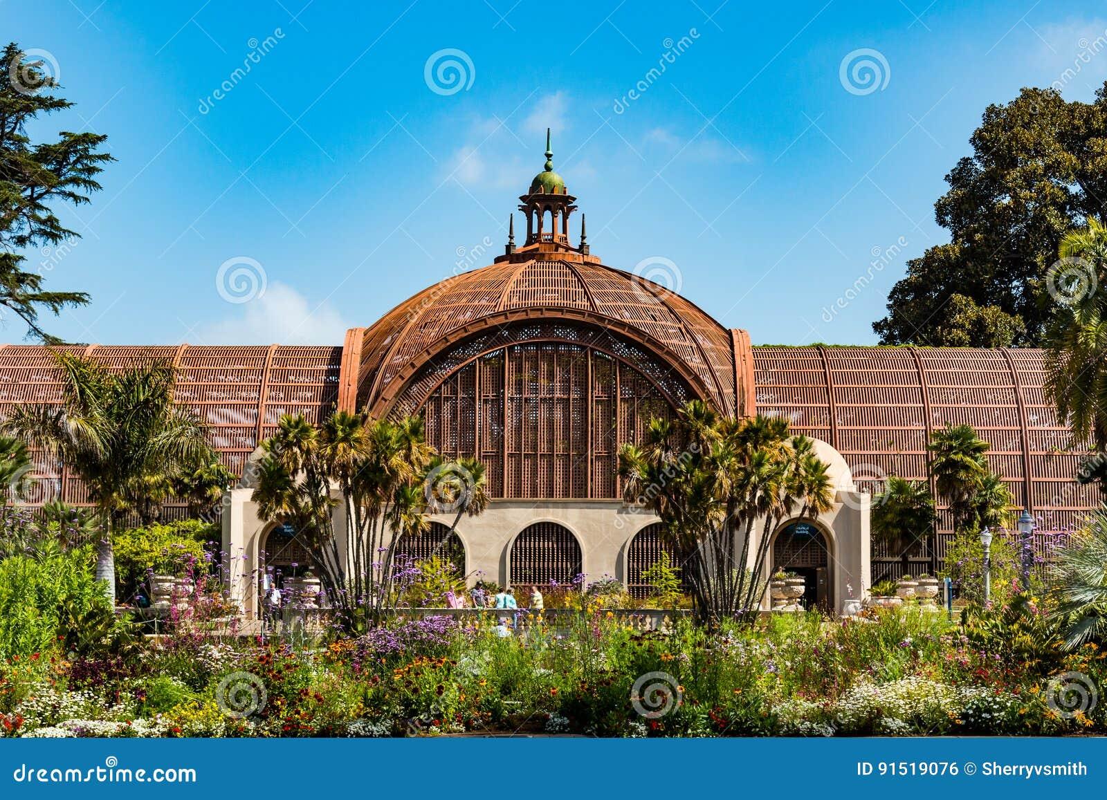 Landmark Botanical Garden In Balboa Park Editorial Photo - Image of ...