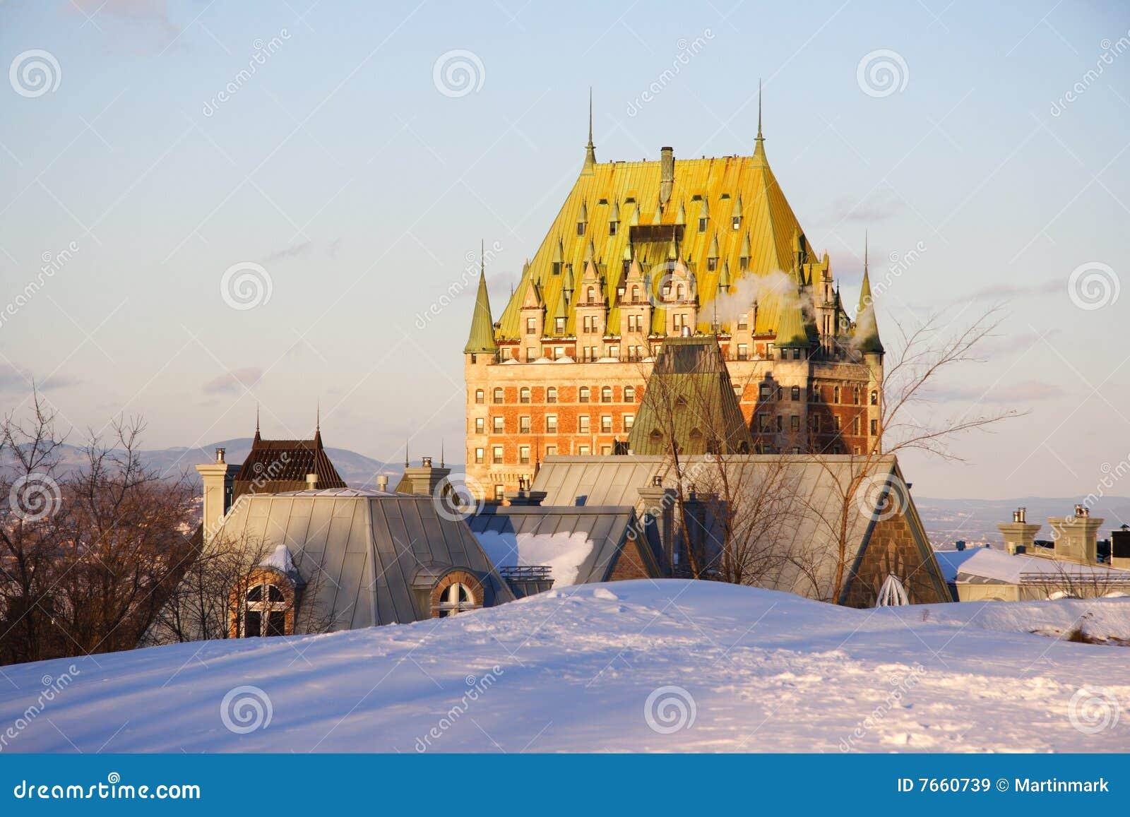 Landmark quebec för chateaustadsfrontenac