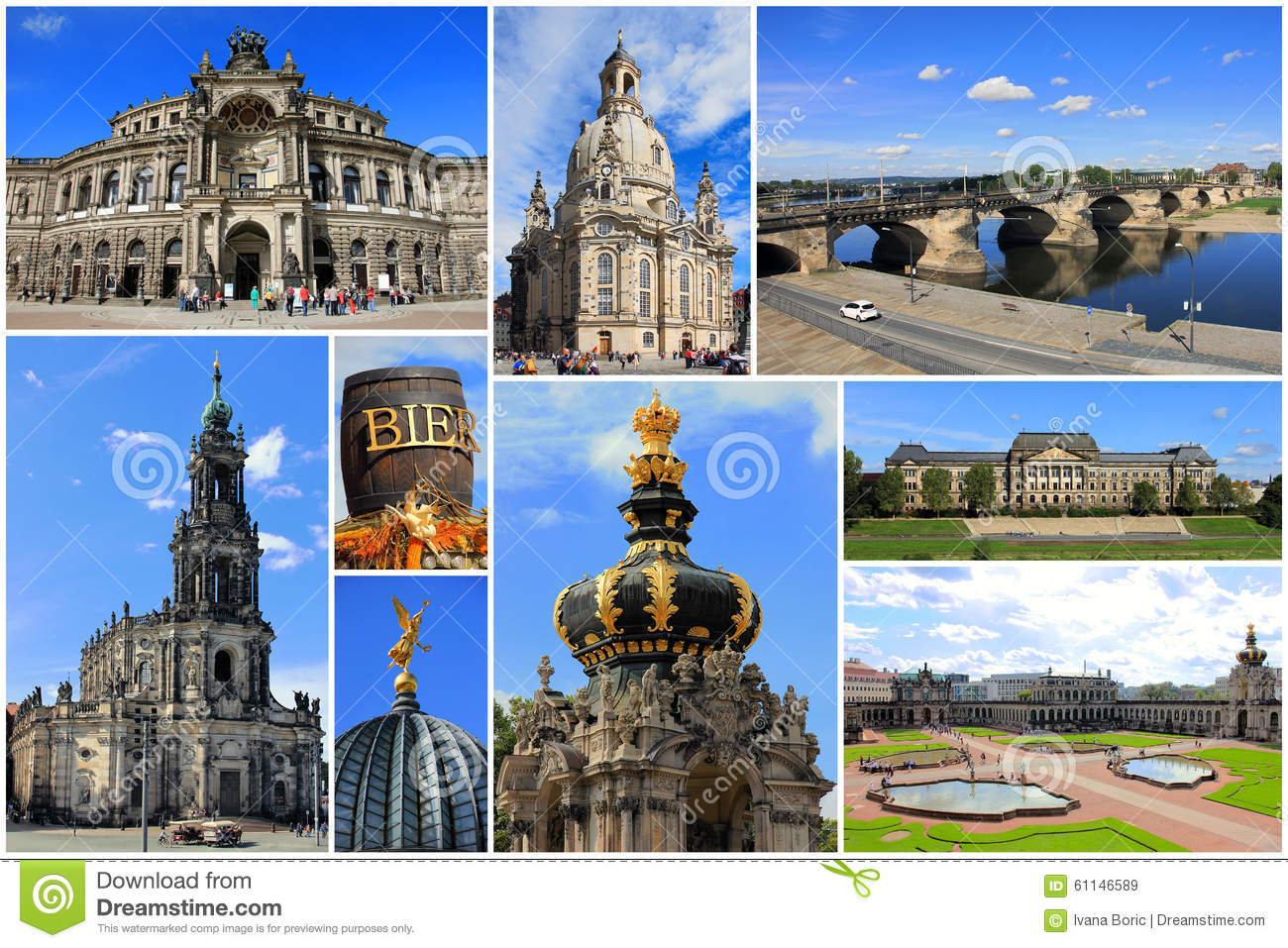 Stock Photo Landmarks Collage Dresden Saxony Germany Travel Most Known Image61146589 on A Frame Building Plans