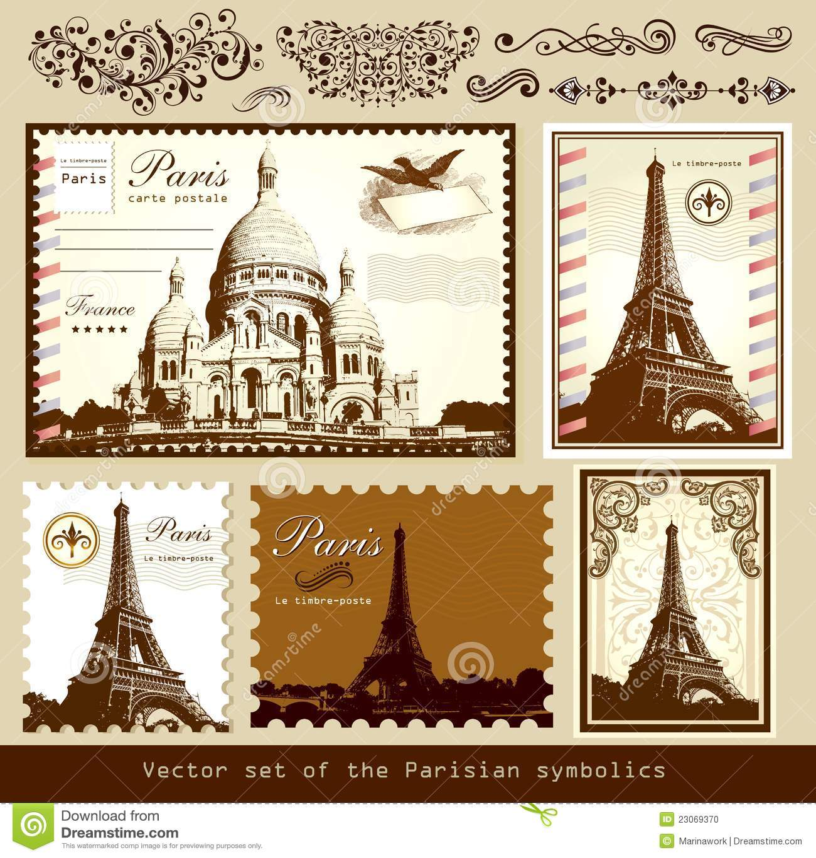 Old paris street map royalty free stock photo image 15885665 - Landmarks Och Symboler Av Paris Arkivfoto