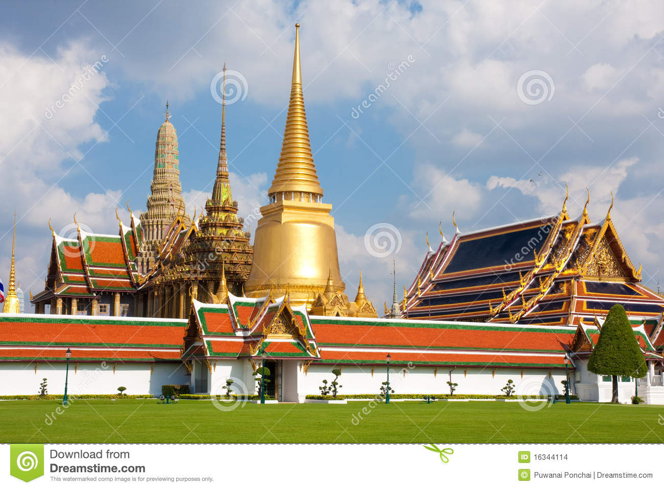 Landmarks Of Thailand Stock Photo Image Of Ancient