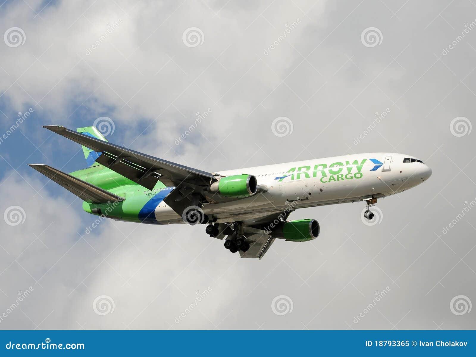 Landning för stråle för luftpillast