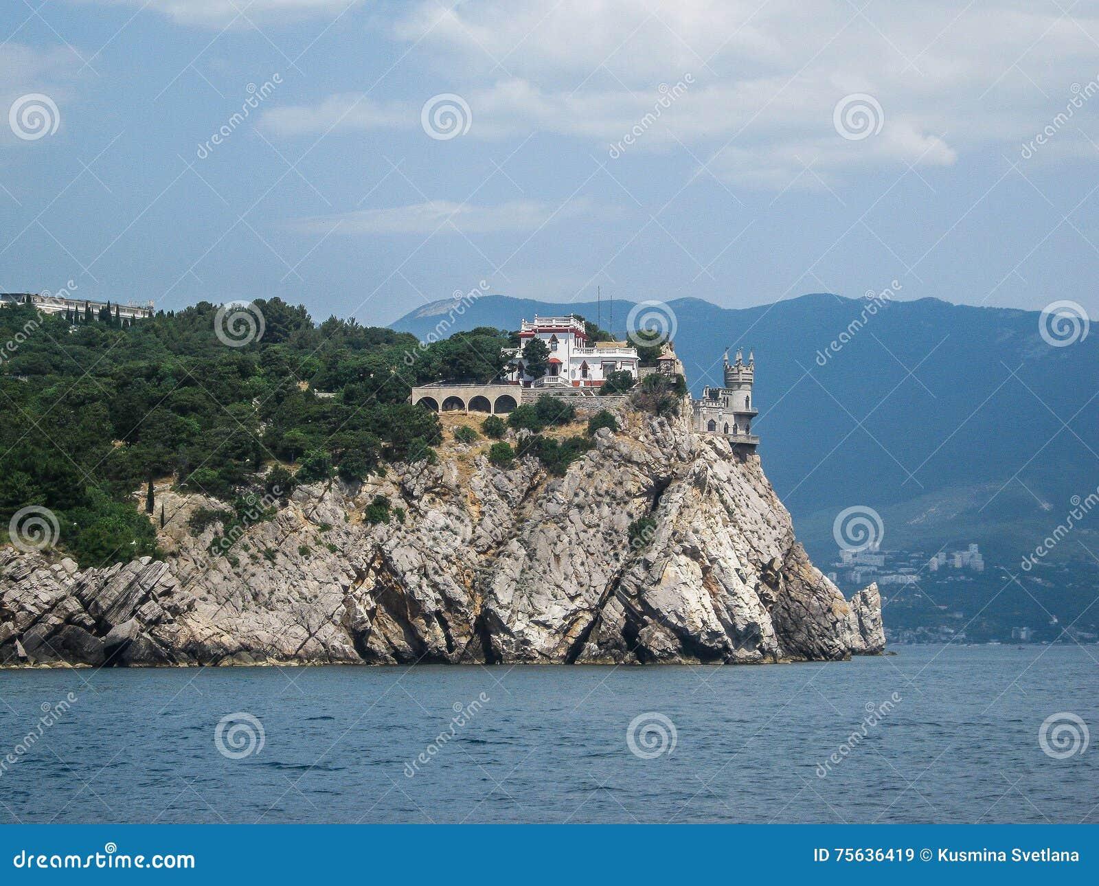 Landscape of the coast of the Crimea.