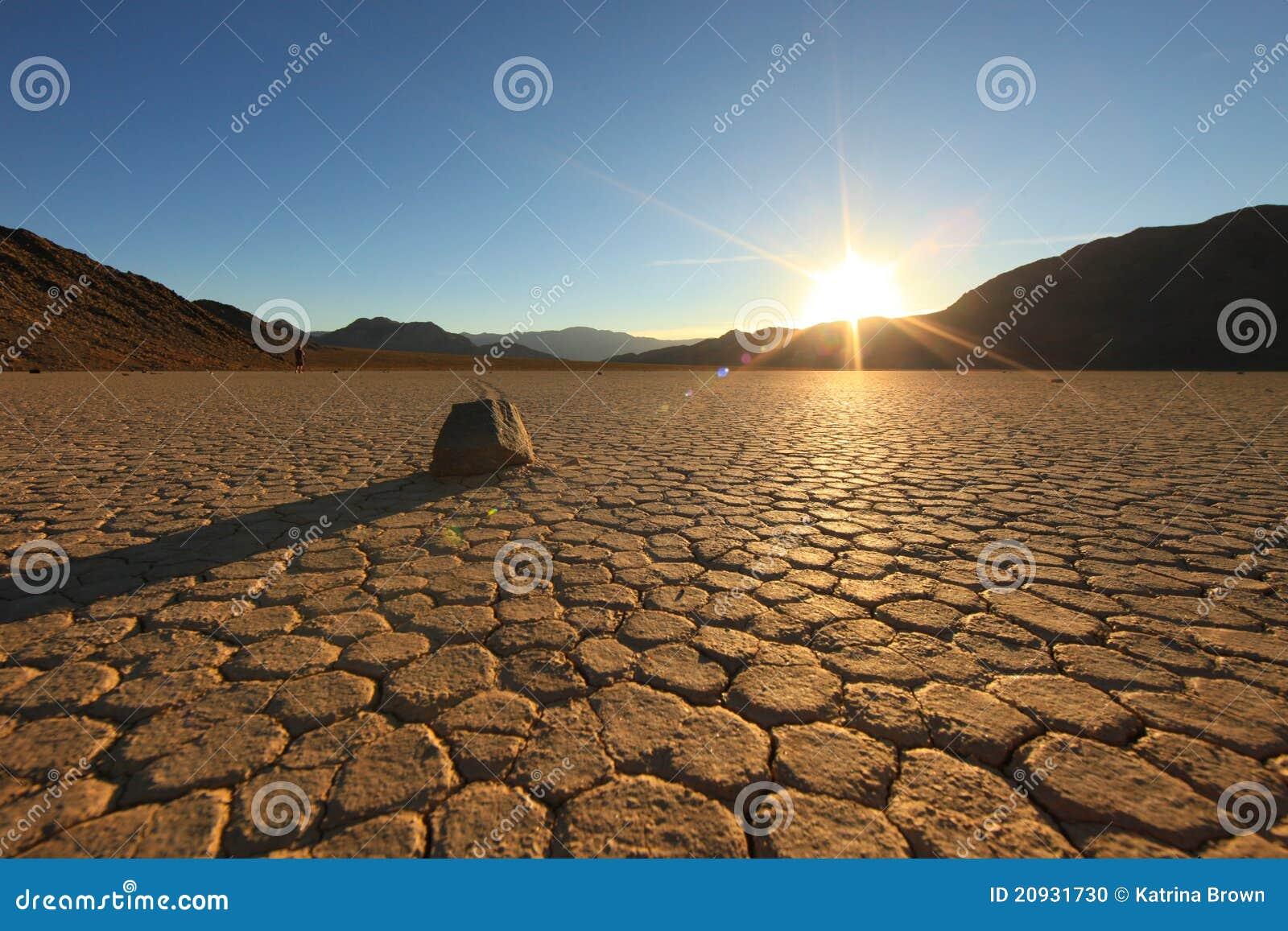 Landscape in Death Valley National Park, Cal