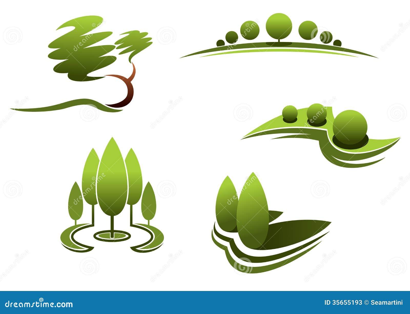 Landscape design elements stock photos image 35655193 for Garden design elements