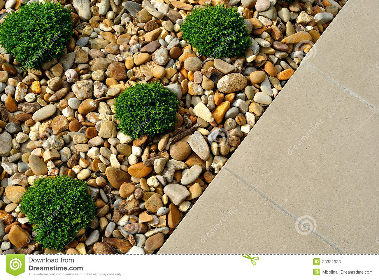 Landscape Design Ideas Stock Photo Image Of Home Lawn 33331938