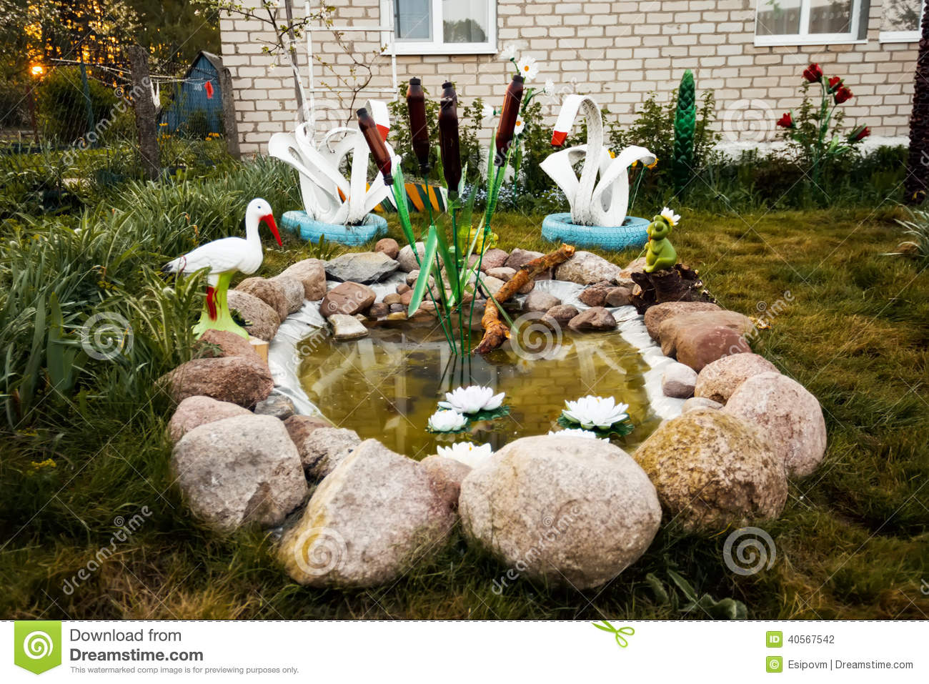 Landscape design stock photo image 40567542 for Garden design your own