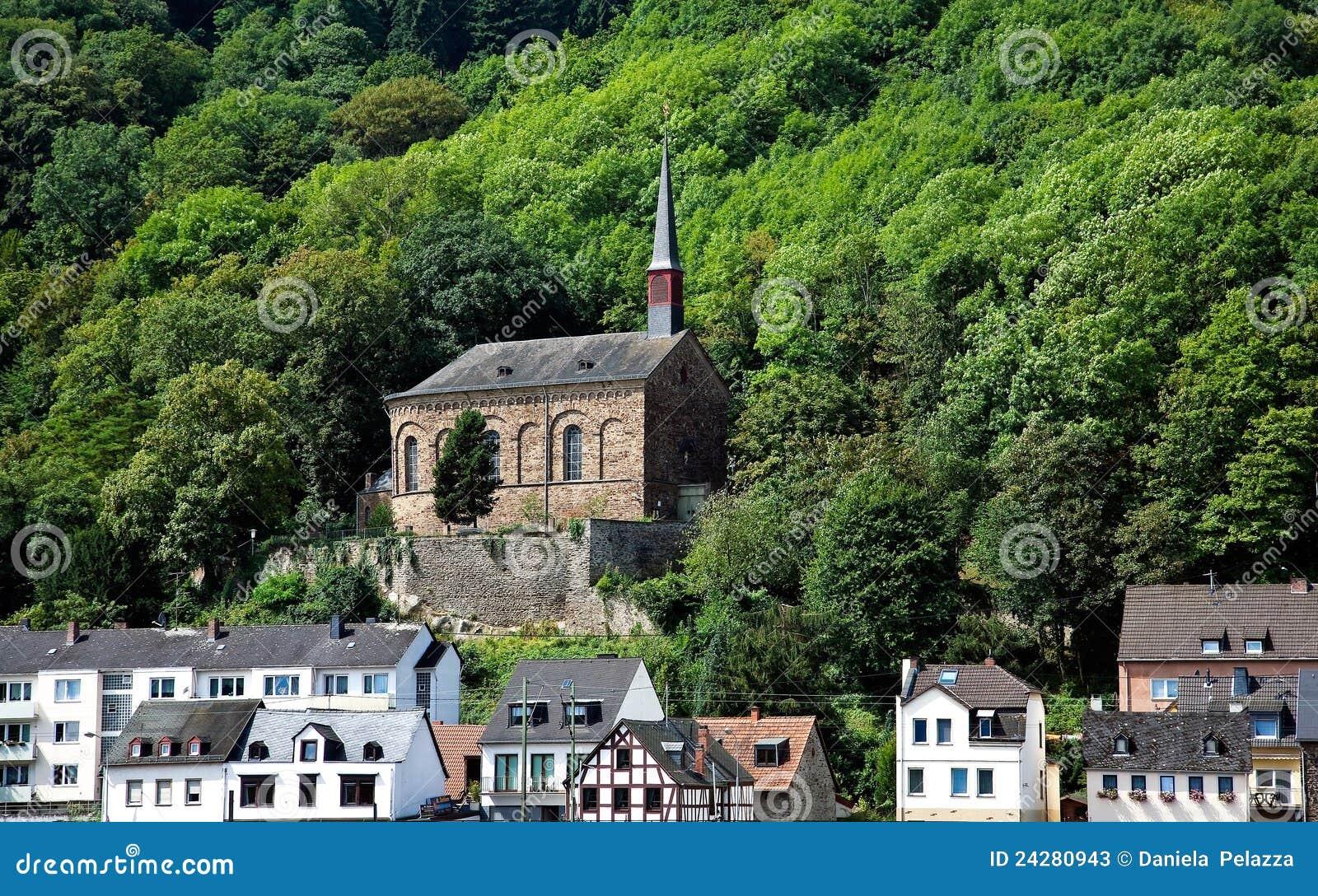 landscape in germany nordrhein westfalen stock image image of religion nordrhein 24280943. Black Bedroom Furniture Sets. Home Design Ideas