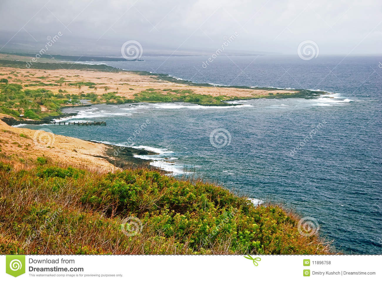 Landscape Of Hawaii Royalty Free Stock Photos Image