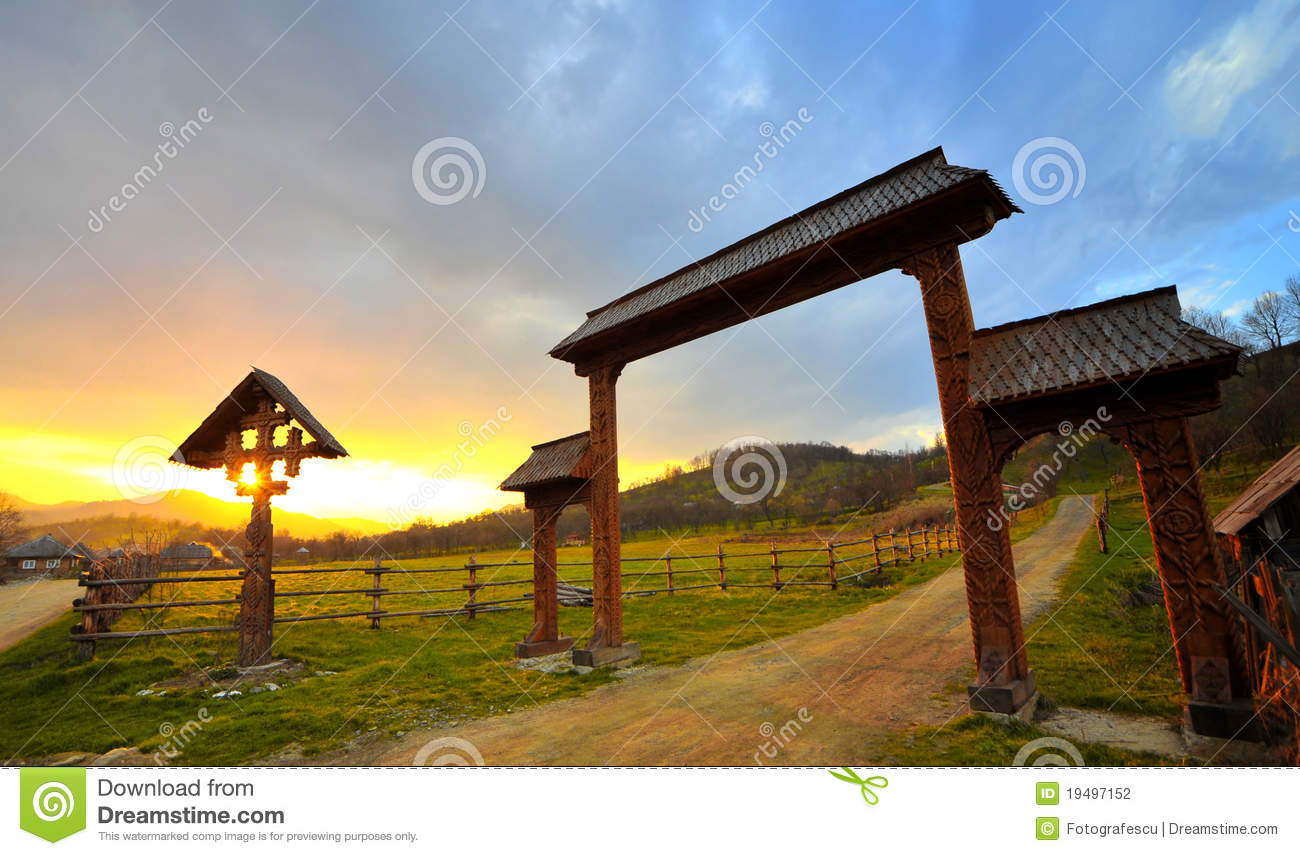 Landscape from Maramures