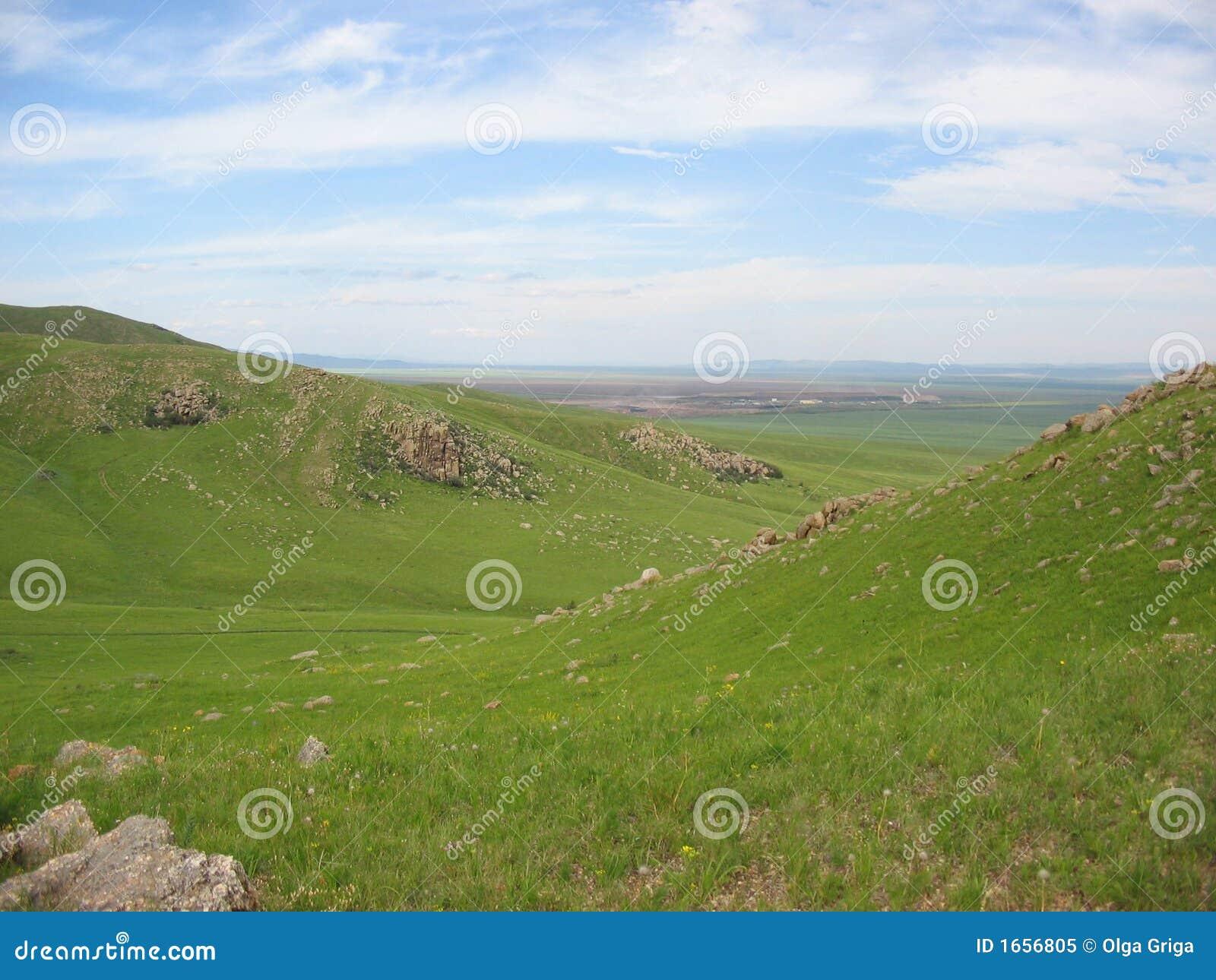 Landscape, the nature, mountain