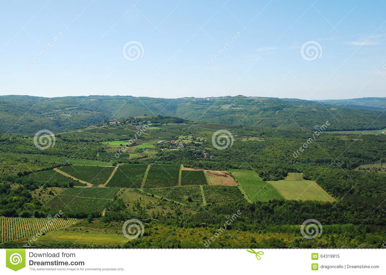 Landscape near motovun stock photo image 64319815 for Nearby landscapers