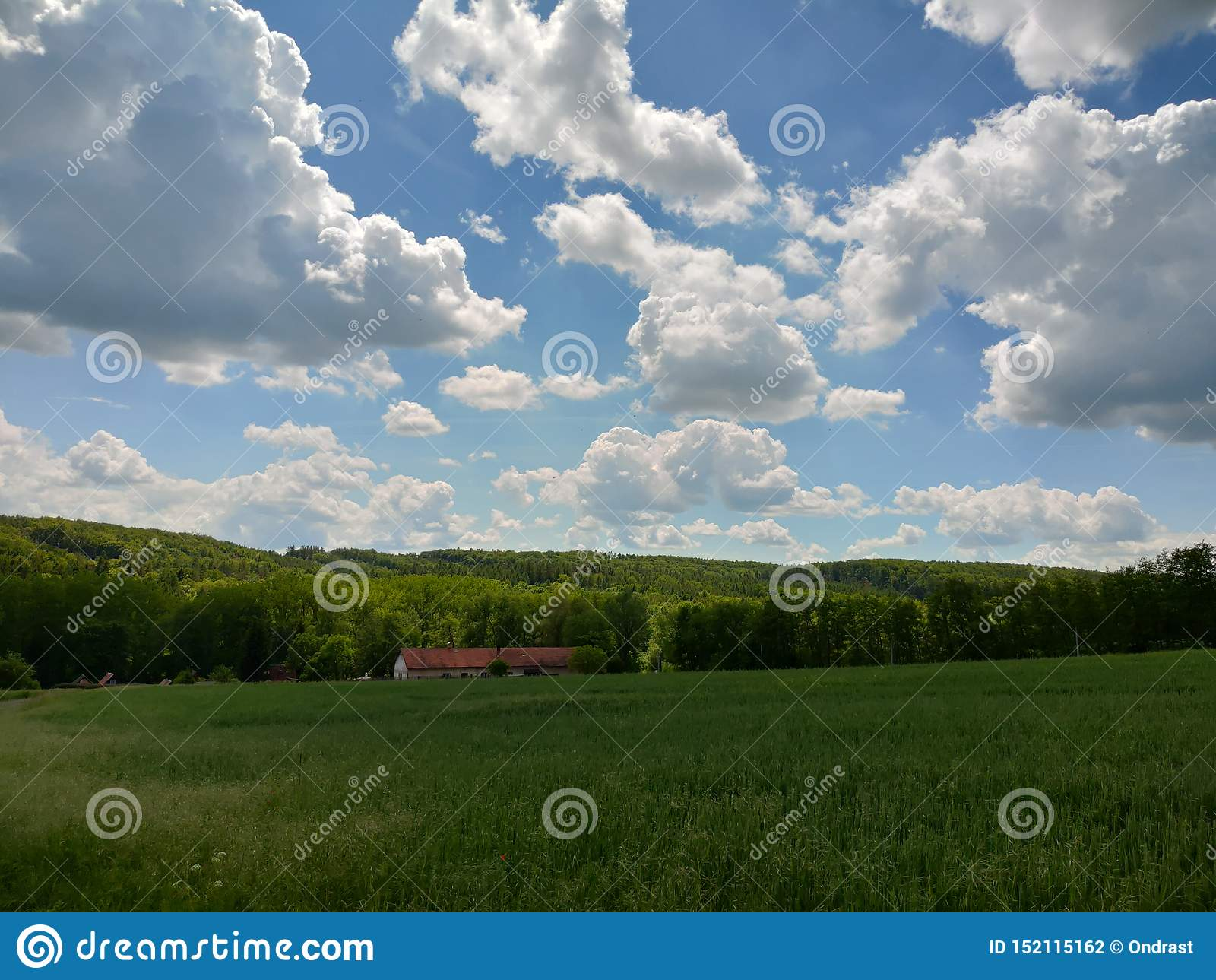 Landscape near by Prague