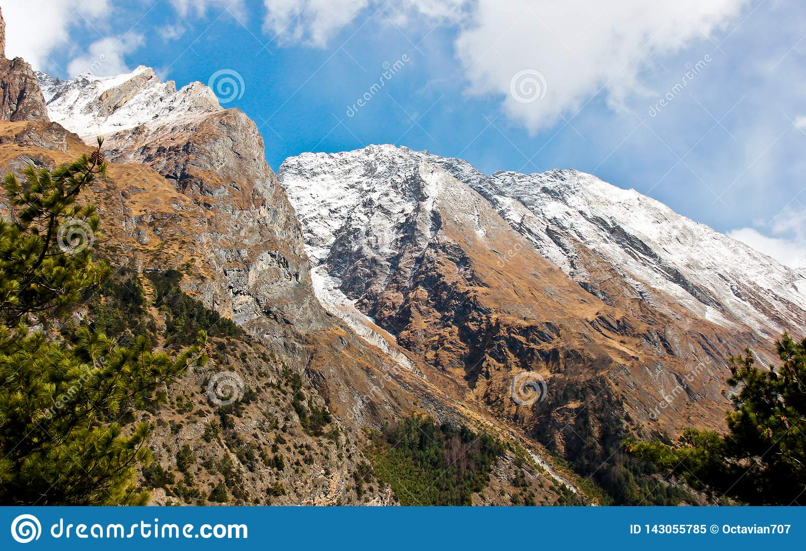Landscape in Nepal / Himalaya