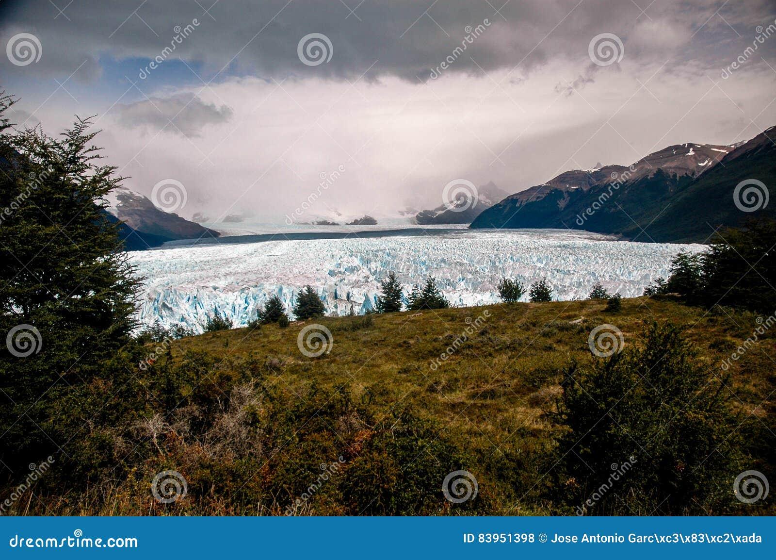 Landscape in Perito Moreno
