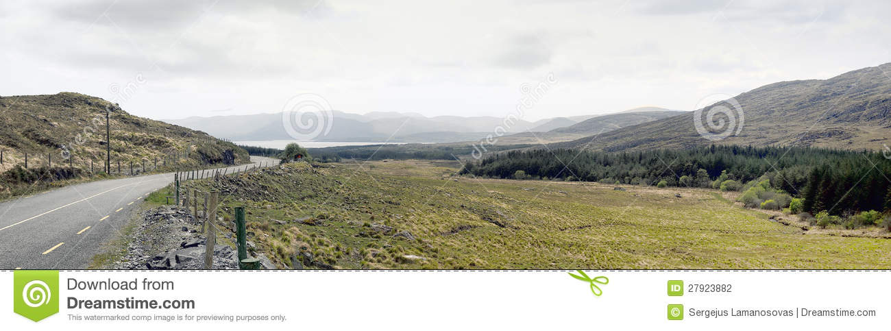 Landscape the ring of kerry in ireland stock photography for Garden design kerry