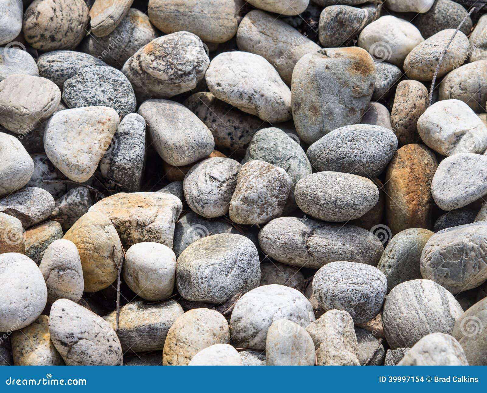 Garden Design Garden Design with Landscape Rocks Stock Photo