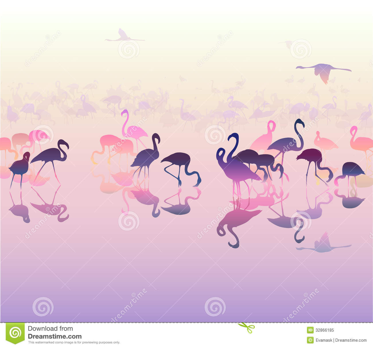 Displaying 18> Images For - Flamingo Silhouette...
