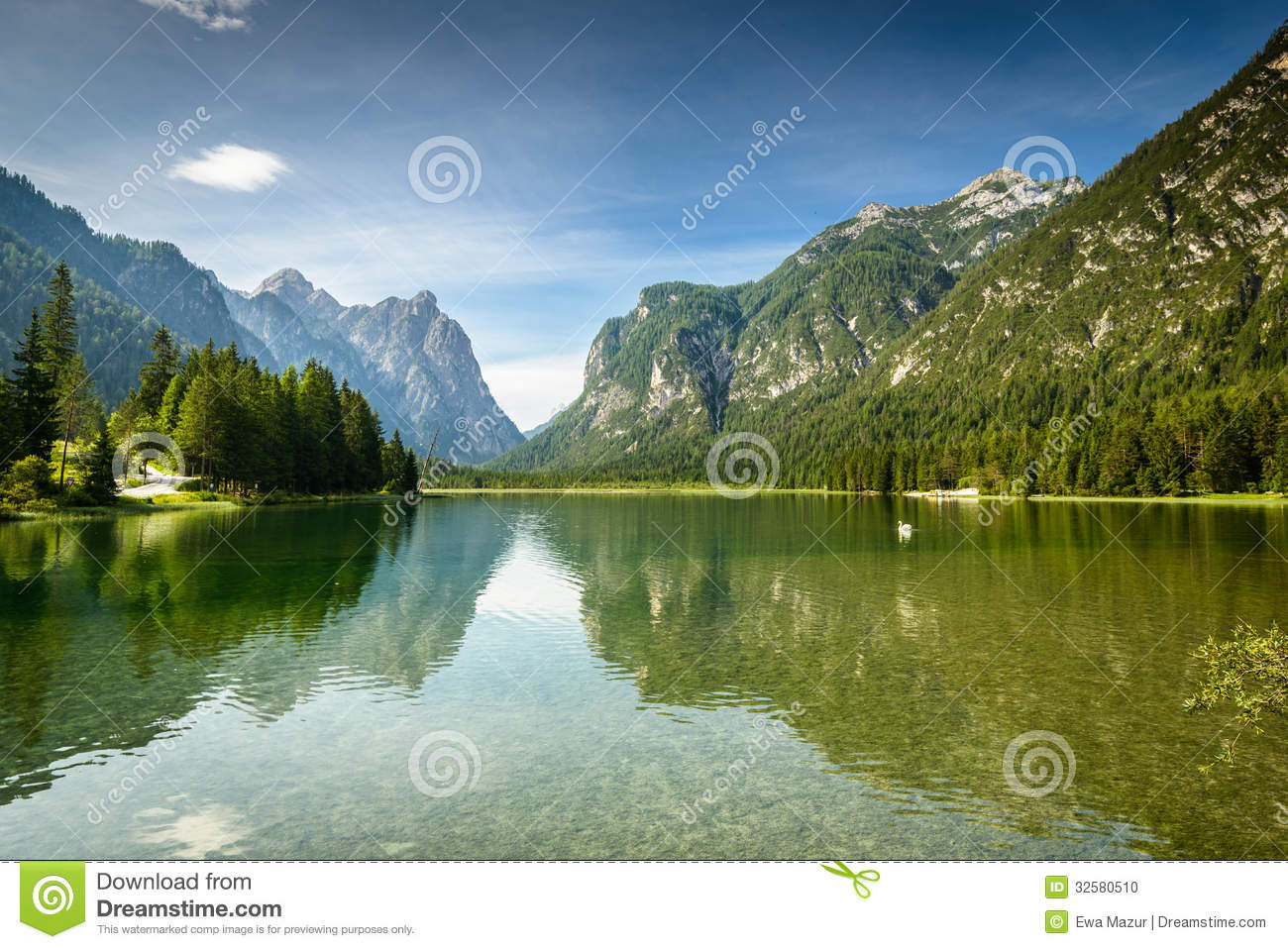 Dobbiaco Italy  city pictures gallery : ... Lago di Dobbiaco,Italy. Dolomites are on UNESCO World Heritage List
