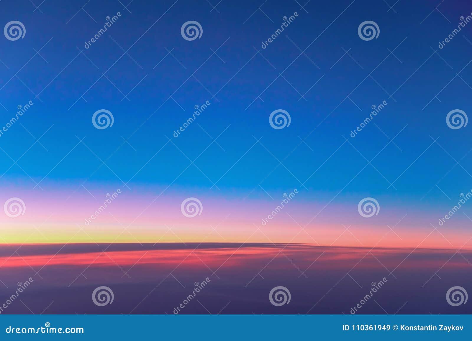 Landscape Sunrise Above Clouds Wallpaper Bright Red Orange
