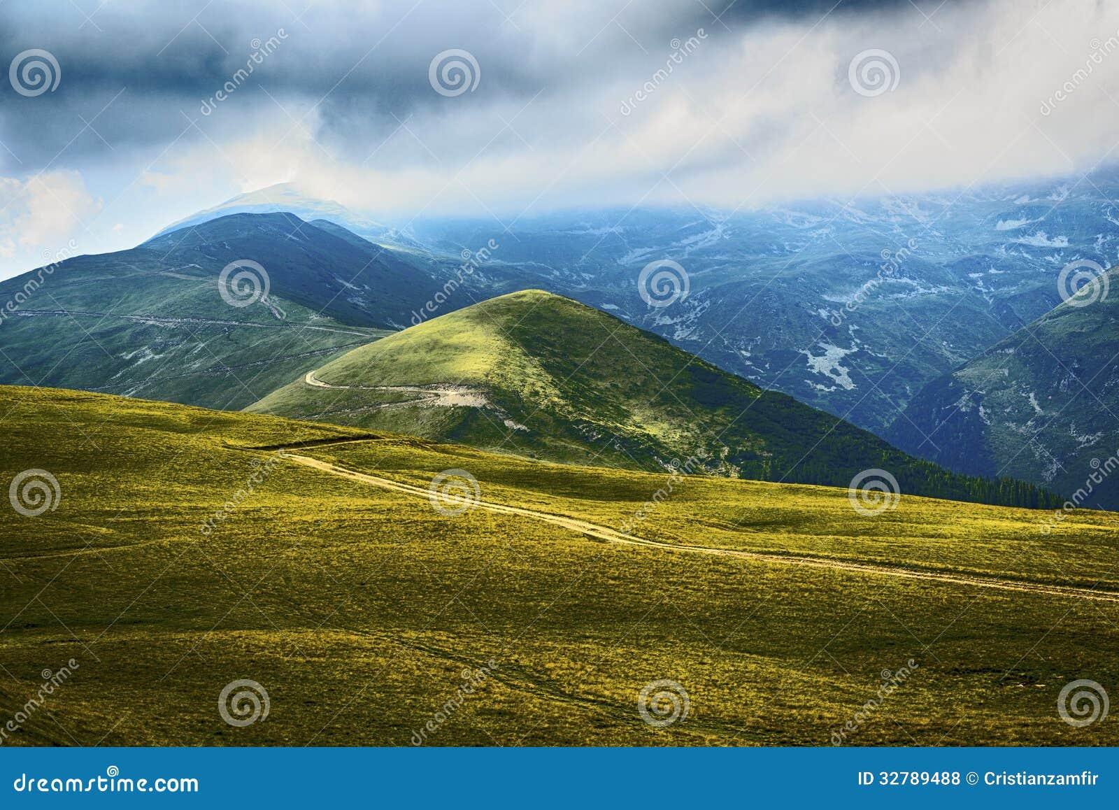 Landscape in transylvania romania royalty free stock for Romania landscape